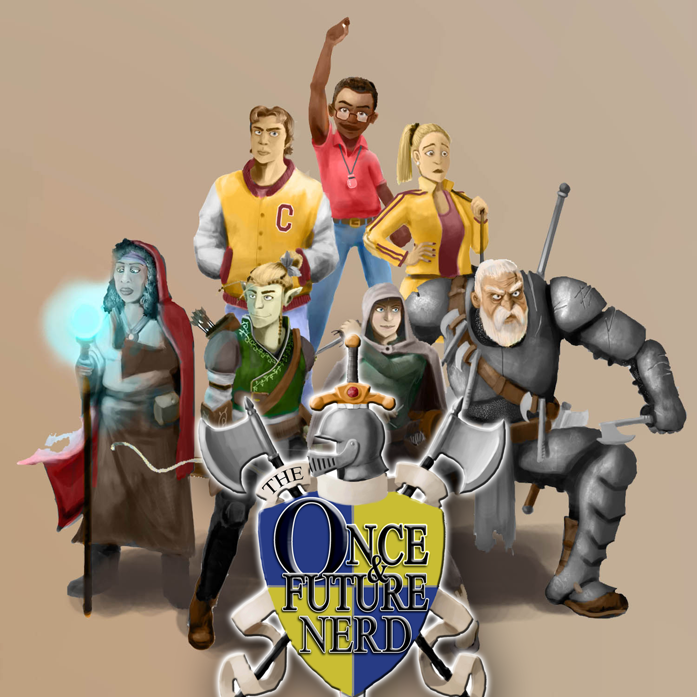 The Once And Future Nerd logo