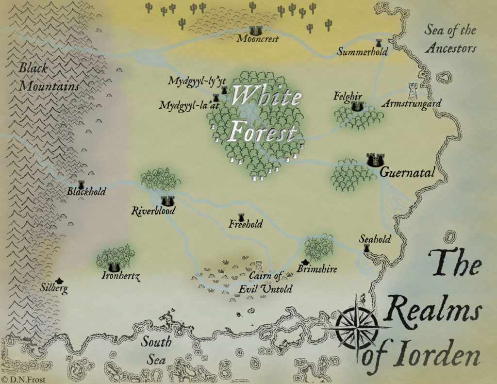 TOAFN Official Map